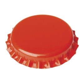 Crown corks Ø26mm, 100 pcs (orange)