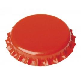 Крон-пробки для пивных бутылок Ø26мм, 100шт. (оранжевые)