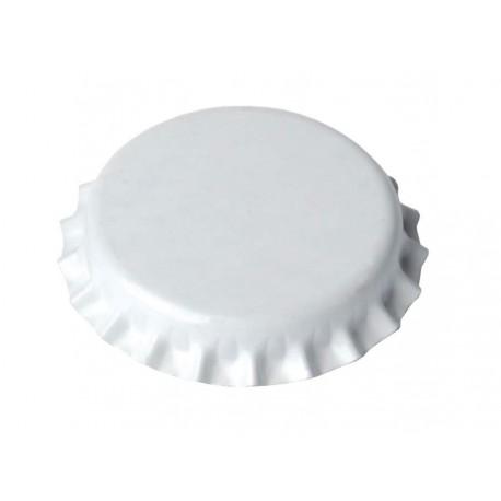 Crown corks Ø26mm, 100 pcs (white)