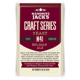 Dried brewing yeast Mangrove Jack's Craft Series Belgian Ale M41 10g
