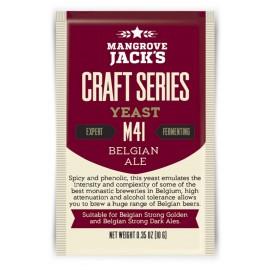 Sausos alaus mielės pagal Mangrovių Jack Amatų Serijos Belgijos Ale M41 10g