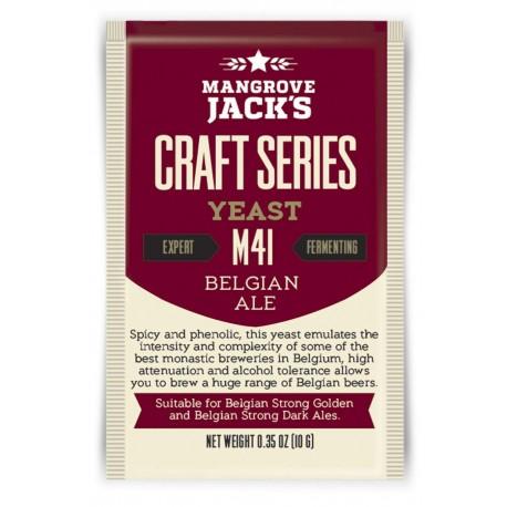 Dried brewing yeast Mangrove Jack's Craft Series Belgian Ale M41 10g