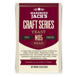 Dried brewing yeast Mangrove Jack`s Craft Series Mead M05 10g
