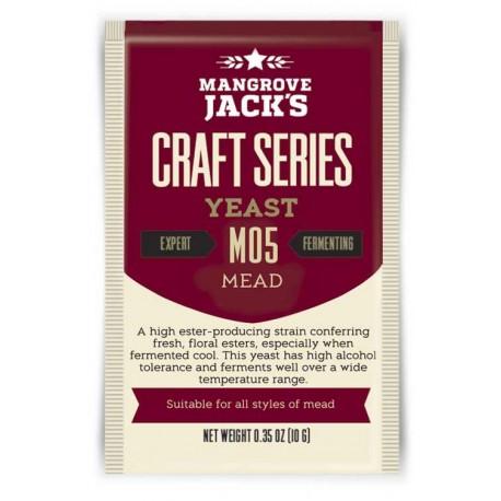 Sausais alus raugs Mangrove Jack`s Craft Series Mead M05 10g