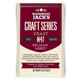 Kuiv õlle pärmi Mangroov jacki Käsitöö-Sarja Belgia Abbey M47 10g