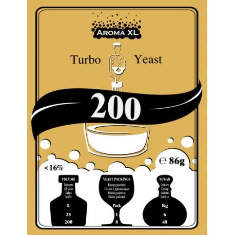 Turbo raugs destilācijai AromaXL 200 Turbo