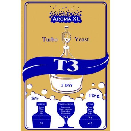 Turbo raugs destilācijai AromaXL T3