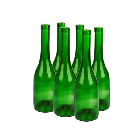 Wine bottles 700ml (6 pcs.)