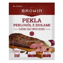 Pekla - curing salt with herbs 67g (for 2 kg of meat)