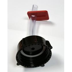 Noslēdzējs priekš ogles destilācijas filtra