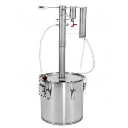 "Distiller with cooler and clarifier 30L ""TORPEDO"""