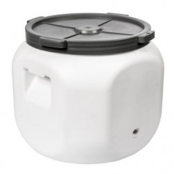 Sauerkraut pot 40L with opening for the tap