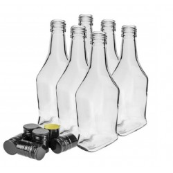500 ml bottle with a cap - 6 pcs.