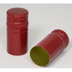 Skrūvējamais vāciņš pudelēm garšs Ø30 x h60mm, bordo