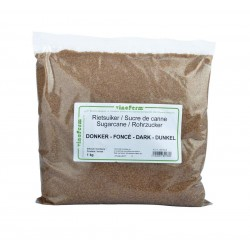 Raw cane sugar dark 1 kg