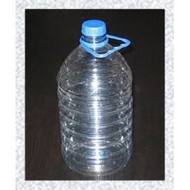 Plastic PET bottle with cork 5L, Ø48mm