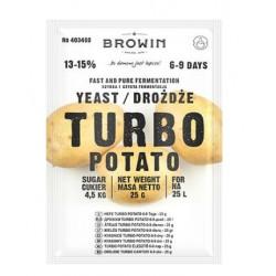 Mielių TURBO Bulvių 25L, 13-15%, 25g