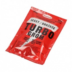 Yeast TURBO GROM 72h for 25L, 19%, 120g