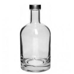 Stiklinis butelis Praleisti Barku 700ml su kamštienos