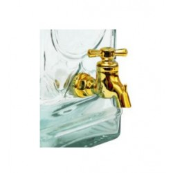 Plastic tap for decorative glass barrel 2-3,8L