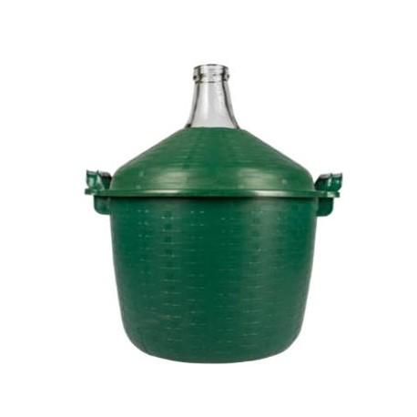 Stikla balons zaļā korpusā 15L