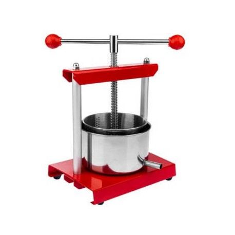 Stainless steel press 5.3L