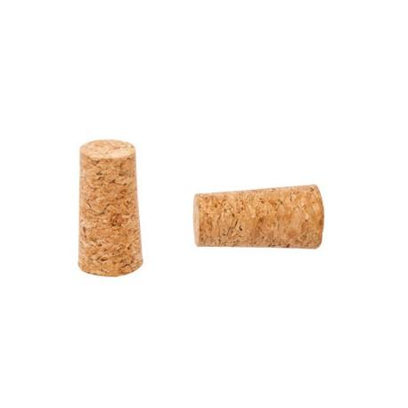 Conical natural cork, diameter 14/19mm
