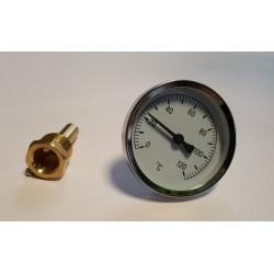 Termometrs 0°C + 120°C