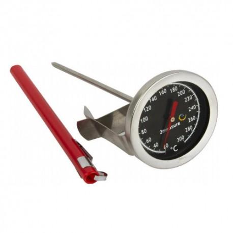 Termometras mėsos valgių ir dūmų 20°C+300°C 140mm