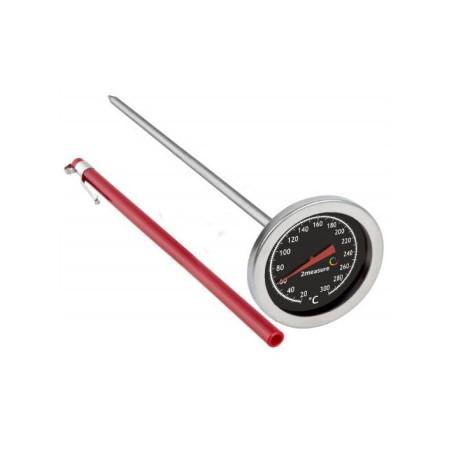 Termometrs priekš gaļas cepšanas un kūpināšanas 20°C+300°C 200mm