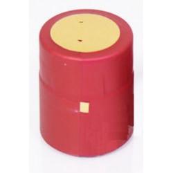 Термо-колпачки для бутылок 32x40mm бордо 100шт.