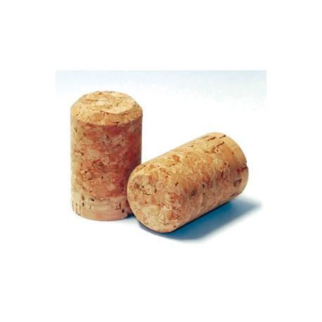 Dabīgs vaskots šampanieša korķis 30,5x48mm, 100gb.