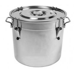 Nerūdijančio plieno fermentavimo bakas 30L