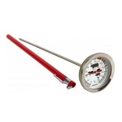Nerūdijančio plieno termometras 0°C + 120°C 210 mm