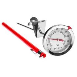 Термометр из нержавеющей стали 0°C+100°C 175мм