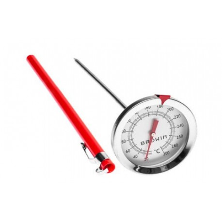 Stainless steel thermometer 0?C+300?C 175mm
