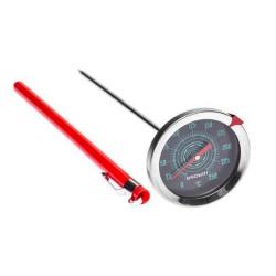 Nerūdijančio plieno termometras 0°C+250°C 175mm