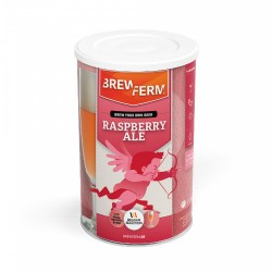 Alus iesala ekstrakts BREWFERM Raspberry Ale (aveņu) uz 12L ABV: 6%