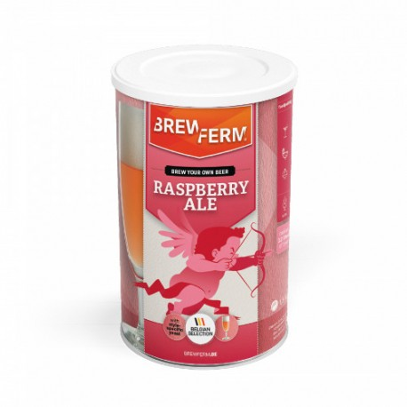 Alus iesala ekstrakts BREWFERM Raspberry Ale (ave?u) uz 12L ABV: 6%