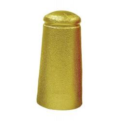 Шапочки из фольги для пивных бутылок 34x90мм (золотые) 25 шт.