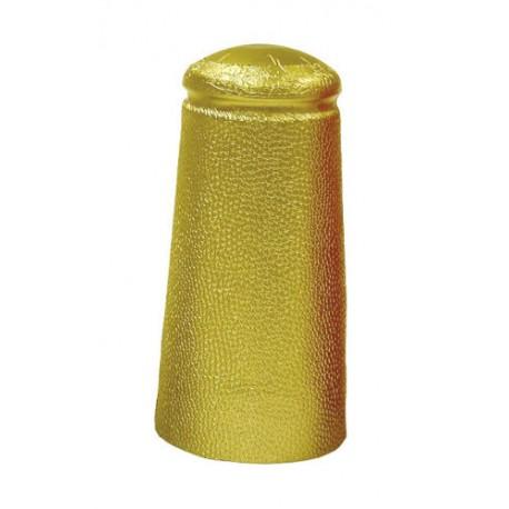 Folija cepurītes alus pudelēm 34x90mm zelta 25 gb.