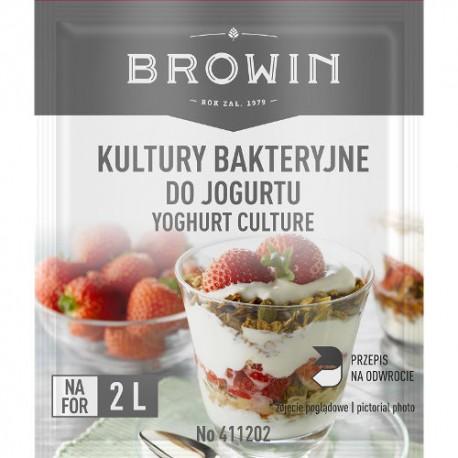Yogurt bacteria culture 2x2g -for 4L of milk