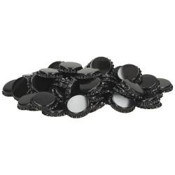 Crown corks Ø26mm 10,000 pcs, black
