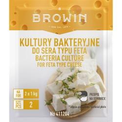 Bakterijų kultūros Fetos tipo sūris 2g