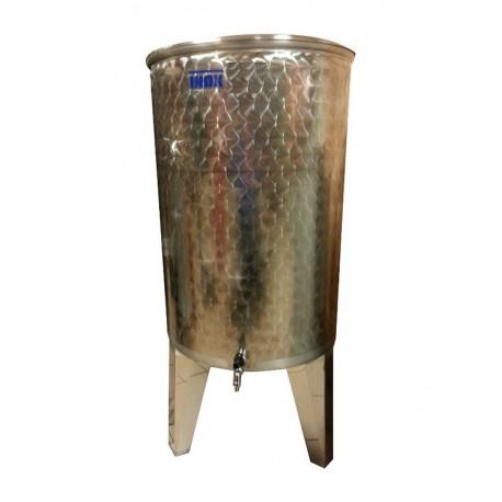 Открытый бак с плавающей крышкой и гидрозатвором 200л
