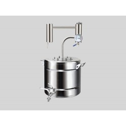 Distiller Saimnieks 20L from stainless steel