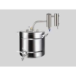 Nerūdijančio plieno distiliavimo aparatas Svajonė-2 20L