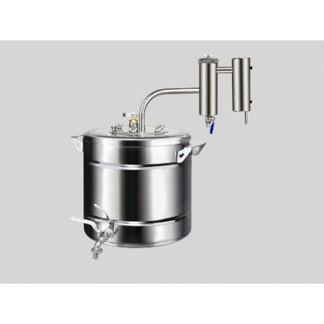 Destilācijas aparāts no nerūsējošā tērauda Sapnis-2 20L