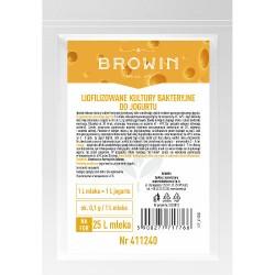 Liofilizuotos jogurto bakterijų kultūros 2,5g