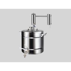Destilācijas aparāts no nerūsējošā tērauda Ekonom 20L